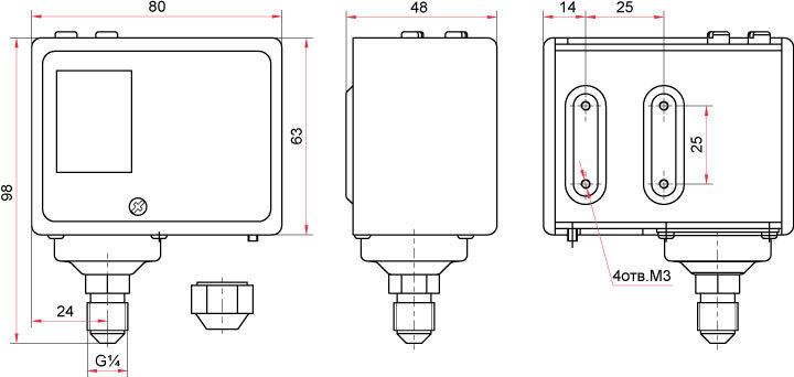 Датчики давления от ТТФ Современные приборы в наличии
