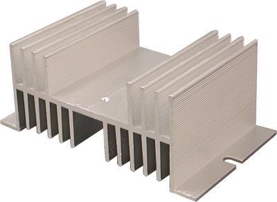 Радиатор для твердотельных реле SSR до 20А SNT-1220
